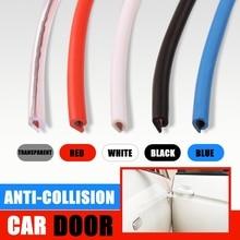 5meter/Lot Invisible Car Door Side Seal Anti collision Auto Door Strip Bumper Protector Car Crash Anti rub Protection Stickers