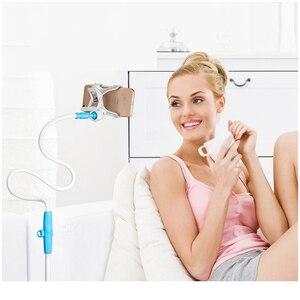 Image 5 - GUSGU טלפון מחזיק, גמיש ארוך זרוע טלפון נייד מחזיק Stand עבור iPhone 7 טלפון סלולרי מחזיק שולחן עבור טלפון שולחן