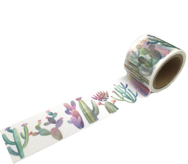 Cactus Decorative Washi Tape