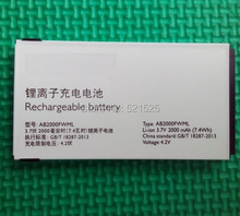 Free shipping & tracking number, Original AB2000FWML battery For PHILIPS X130 CTX130 cellphone Xenium mobile phone batterie