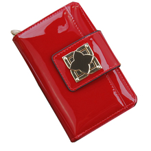 Spainsh wax Leather Women Wallets 2016 Fashion Famous Brand Buckle Coin Purse Wallet Female Clutch Carteras Short Money Pocket