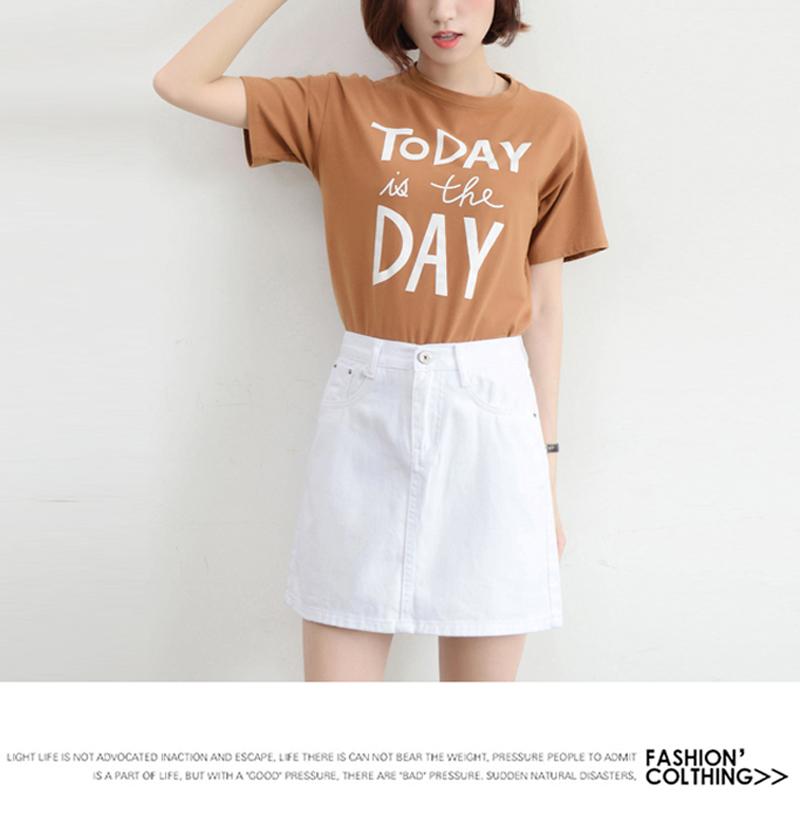 Lucyever Fashion Korean Summer Women Denim Skirt High Waist Black Mini Skirts Package Hip Blue Jeans Harajuku Plus Size Cotton 32