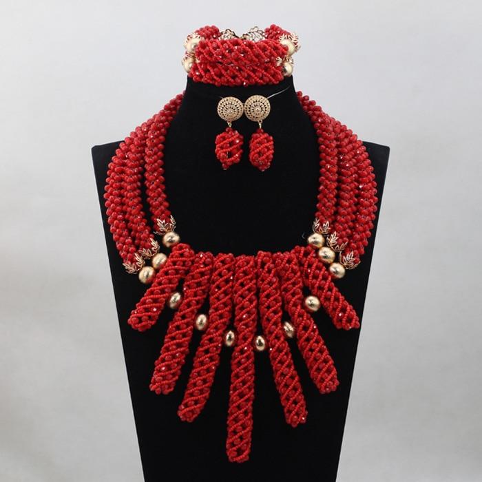 Здесь продается   Yellow/Orange Nigerian Bridal Jewelry Set Popular Wedding Beads Set Handmade Item  QW884  Ювелирные изделия и часы