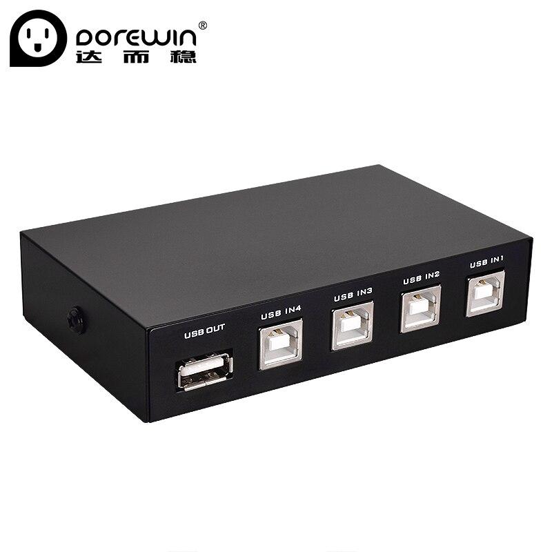 1 StÜcke Wireless Usb 2.0 Sharing Switch Switcher 2 Ports Adapter Box Für Pc Scanner Drucker High Speed Schwarz Computer-peripheriegeräte Kvm-switches