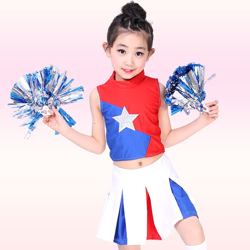 Free Shipping Kids Boys Girls Cheerleading Costumes Performance Dance Costumes Children Aerobics Gymnastics Uniforms Clothes-in Ballroom from Novelty ...  sc 1 st  AliExpress.com & Free Shipping Kids Boys Girls Cheerleading Costumes Performance ...