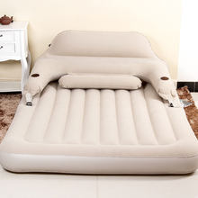 Multifunctional Inflatable Sofa PVC Bed Folding Sofa Beds Outdoor Furniture Sofa Bedroom Portable Soft Guest Bed for 2 Person(China)