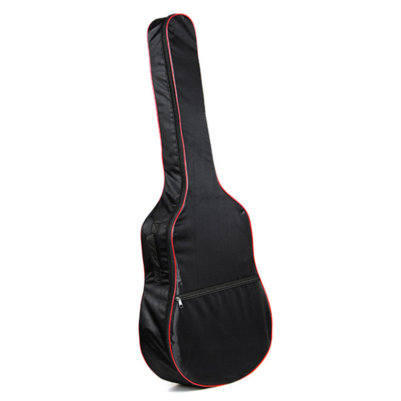 41 Inch Oxford Cloth Bass Guitar Carry Cover Ukulele Case Box Guitar Bag with Shoulder Straps For Music Instruments Parts 12mm waterproof soprano concert ukulele bag case backpack 23 24 26 inch ukelele beige mini guitar accessories gig pu leather