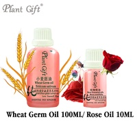 100 Pure Plant Base Oils Australia Wheat Germ Rose Oil Moisturizing Vitamin E Replenishment Antioxidant Delay