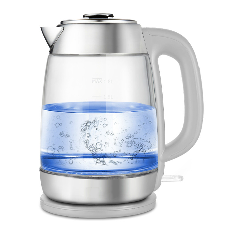 все цены на Glass electric kettle household stainless steel 304 food grade boiler large capacity