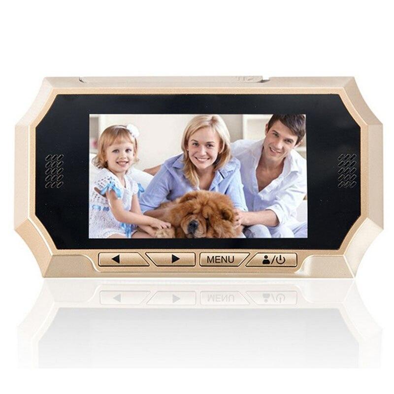 4.3 inch Digital Peephole Viewer Color Screen Door Peephole Camera Home Security Door Camera IR Night Vision Motion Detection цена