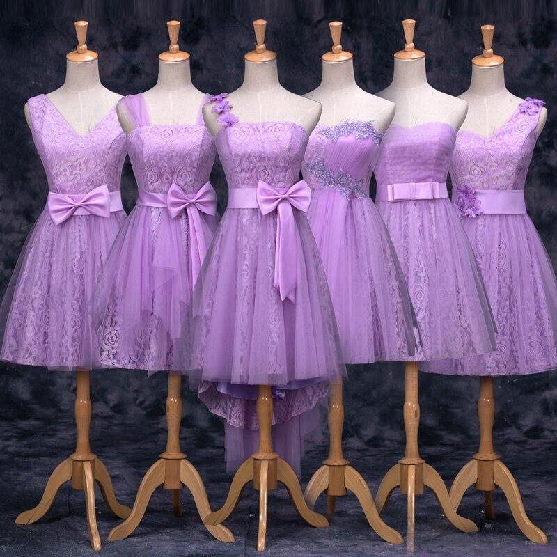 Vino tinto vestido de dama de encaje corto sin tirantes de baile ...
