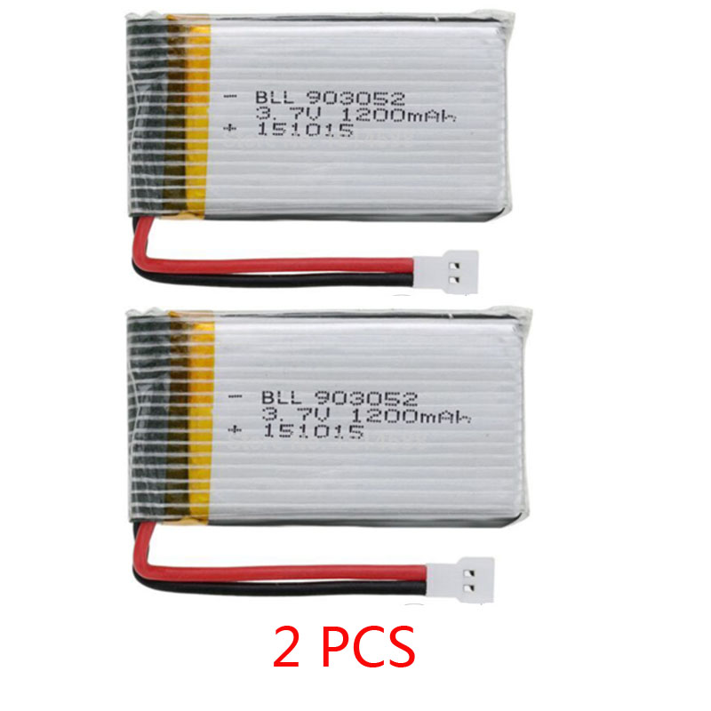 <font><b>3.7V</b></font> <font><b>1200mAh</b></font> 25C <font><b>Lipo</b></font> <font><b>Battery</b></font> for Syma X5SW X5SC X5S X5SC-1 M18 H5P RC Quadcopter Spare Parts Accessories image