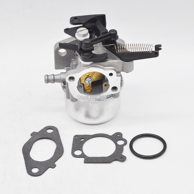 US $18 7 |796608 Carburetor Assembly w/ Choke Spring for Briggs & Stratton  Lawn Mower 111000 11P000 121000 12Q000 -in Carburetor from Automobiles &