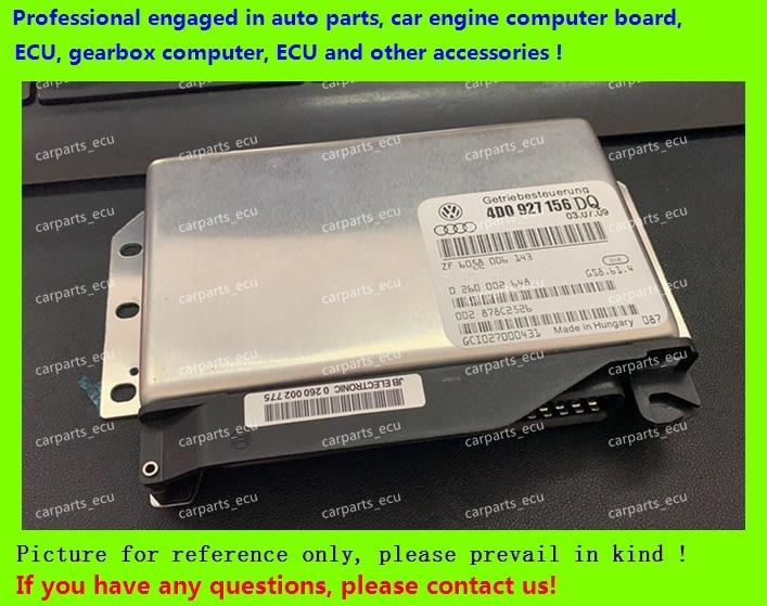 Para Ordenador de transmisión de coche Audi/caja de cambios 01 V/4D0927156DQ/4B0927156 0260002455/8D0927156DK/4B0927156F/4D0927156EA/TCU