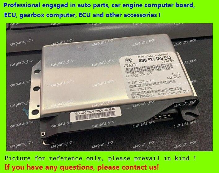 Pour ordinateur de Transmission de voiture Audi/01 V ordinateur de boîte de vitesses/4D0927156DQ/4B0927156 0260002455/8D0927156DK/4B0927156F/4D0927156EA/TCU