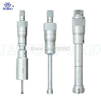 Micrómetros internos de tres puntos de marca xibei 0.004mm tres puntos dentro del micrometro 3-4-5-6-8-10-12mm