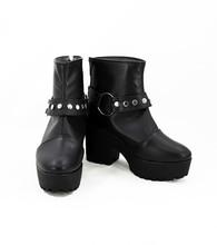 Fate Grand Order FGO Monte Cristo Edmond Dantes Cosplay Boots Shoes Custom Made monte cristo