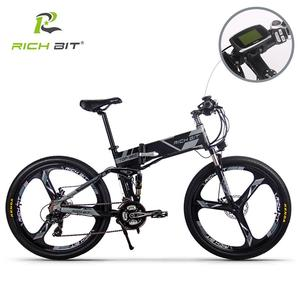 Image 3 - RichBit RT 860 36V*250W 12.8Ah Mountain Hybrid Electric Bicycle Cycling European  Quick deliveryFrame Inside Li on Battery Fold