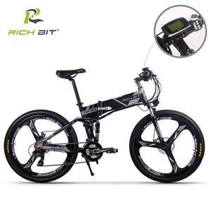 Image 3 - RichBit RT 860 36V * 250W 12.8Ah הרים היברידי חשמלי אופניים רכיבה על אירופאי מהיר deliveryFrame בתוך Li על סוללה פי