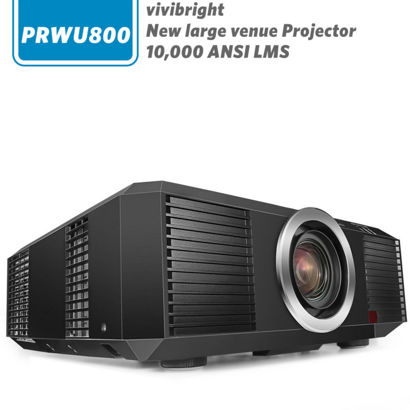 Vivibright projector prwu800 top model outdoor large venue lcd projector new 10000 ansi lumens for Exterior 400 image projector price