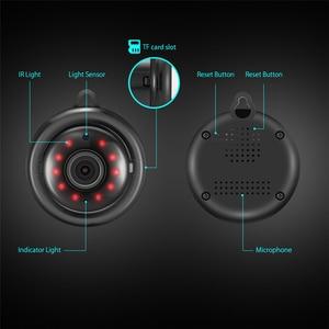 Image 5 - Tendway מיני מצלמות וידאו WIFI 720P IP מצלמה אלחוטי קטן CCTV אינפרא אדום ראיית לילה זיהוי תנועת כרטיס Sd חריץ אודיו App