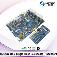 Whole set! Printer Hoson DX5 Single Main Board and Head Board for DX5 Head Inkjet Printer