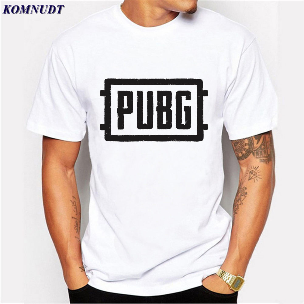 2018 Player Unknown's Battlegrounds/PUBG T Shirts WINNER WINNER CHICKEN DINNER T Shirt For Game Fans Short Sleeve Tee Shirts