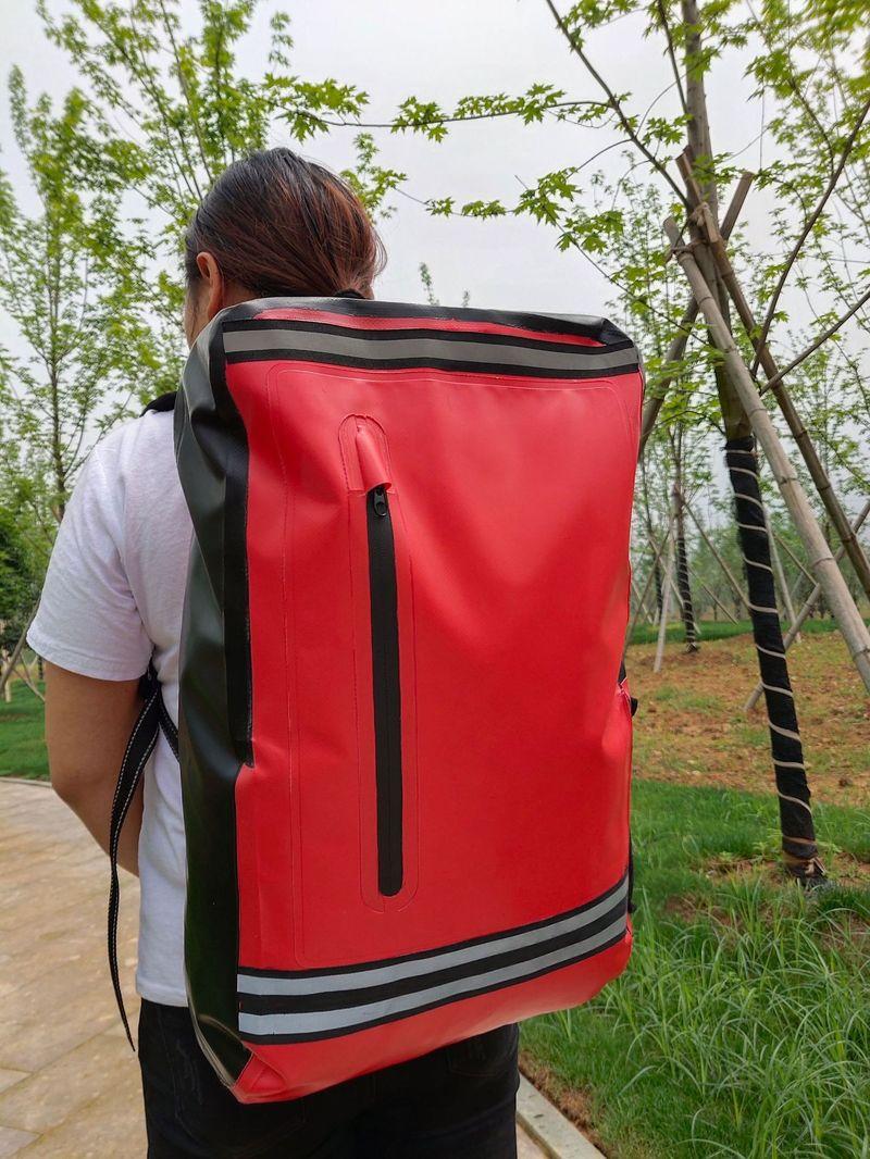 500 DPVC filet seaux en plein air tourisme plongée équipement de natation Hot-vente fabricants sacs imperméables en plein air 40L seau
