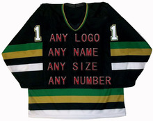 Custom Factory OEM Hockey Jerseys Embroidery Mens Supplier Tackle Twill USA CANADA Australia Free Shiping(China)
