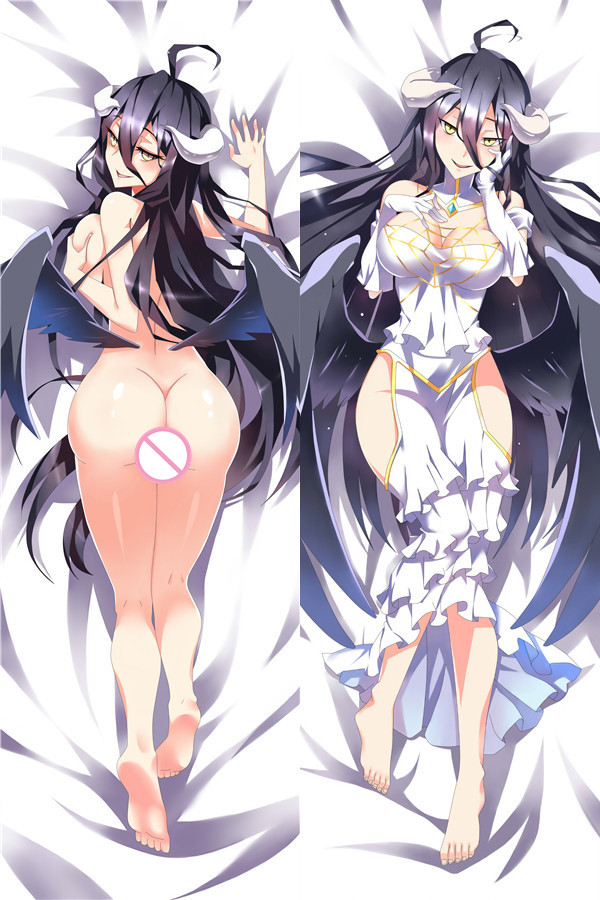 Overlord Albedo Characters sexy girl Anime Pillow Cover hot anime albedo Printed Throw Pillow Case body Pillowcase Dakimakura