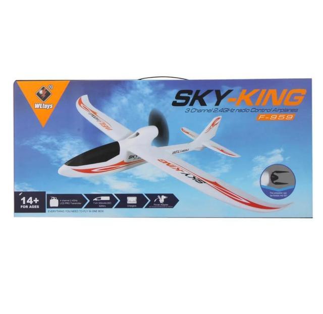 Wltoys F959 Sky King 3CH RC Airplane RTF