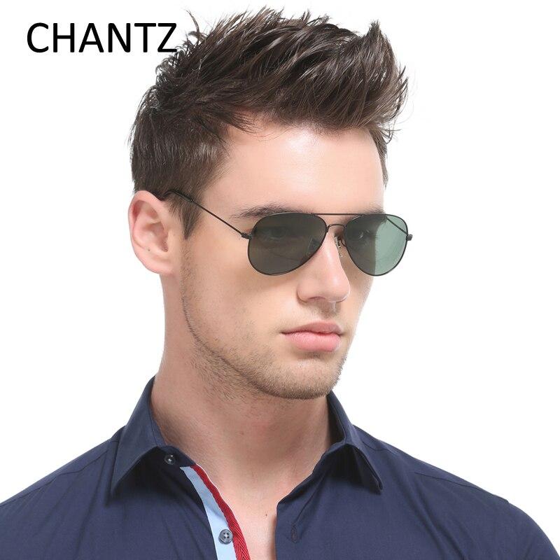 Vintage polarizované pánské sluneční brýle, dámské značkové značkové pánské brýle, sluneční brýle dámské rám z nerezové oceli Lunette De Soleil