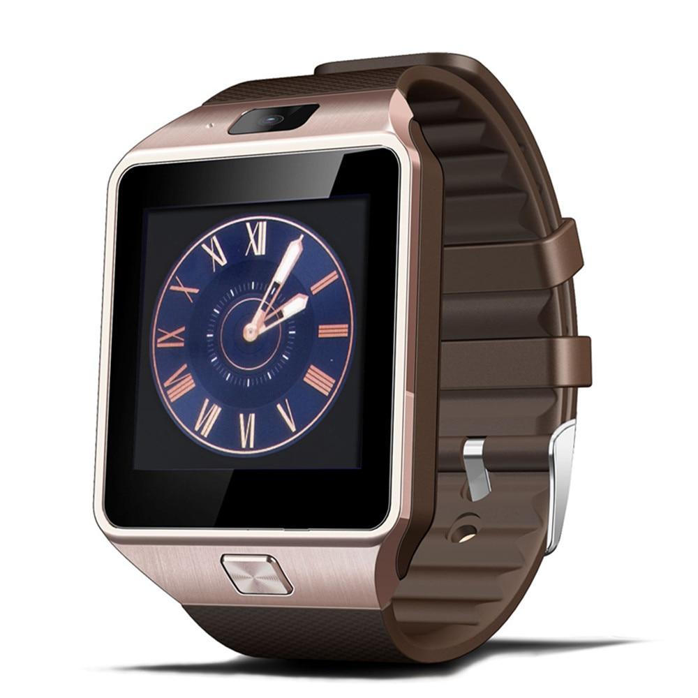 2016 el más nuevo Wearab reloj inteligente dz09 con cámara Bluetooth reloj SIM tarjeta Smartwatch para Ios Android teléfonos bueno como U8 gt08