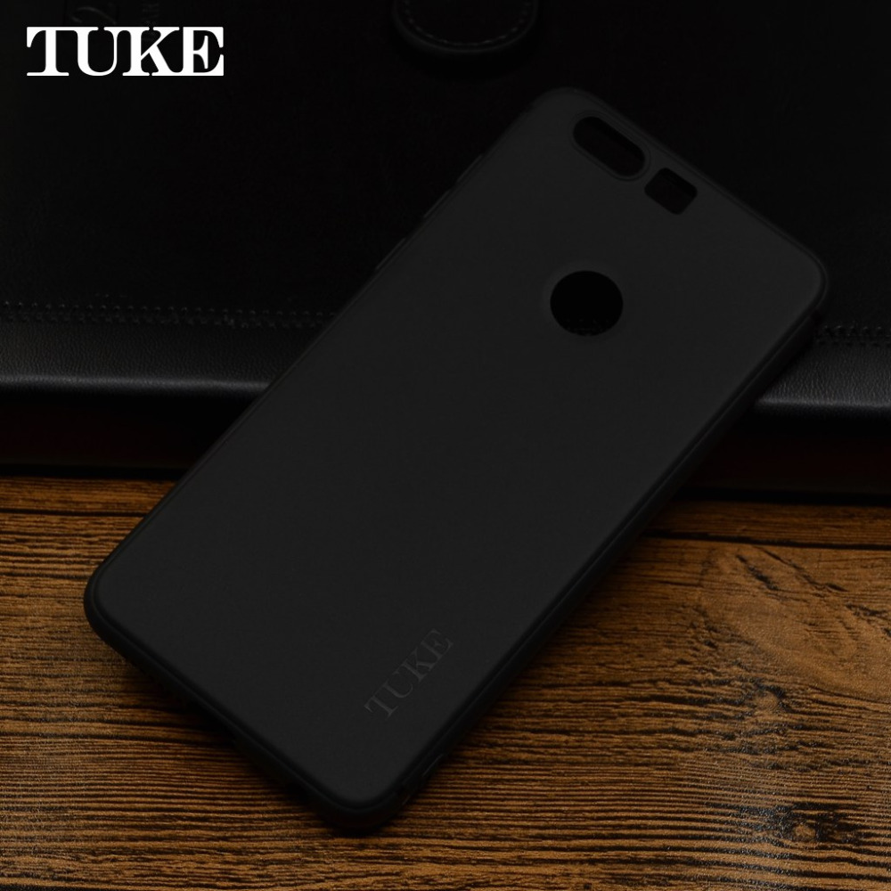 TUKE Soft Silicone Case for <font><b>Huawei</b></font> Honor 8 Cover Etui for <font><b>Huawei</b></font> Honor8 FRD-L19 <font><b>PRA</b></font> <font><b>LX1</b></font> FRD L09 TPU Matte Bag for <font><b>Huawei</b></font>-Honor-8 image