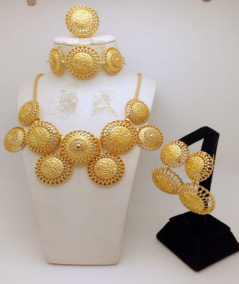 MUKUN 2017 Top quality Fashion Dubai Gold color Jewelry Sets ...