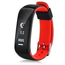 P1 SmartBand BT Смарт Браслет монитор сердечного ритма артериального давления Водонепроницаемый Смарт-часы фитнес для Android IOS Телефон