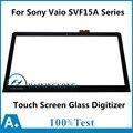 "15.6 ""Сенсорный Экран Стекла Digitizer для Sony Vaio SVF15A SVF15A1S2ES SVF15A1ACXS SVF15A18SCB SVF15A18SCP SVF15A190X SVF15A1M2EB"