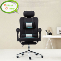 Ice Blue Home Computer Chairs Mesh Office Chair Can Recline Lift Chair Staff Chair Ergonomic Special