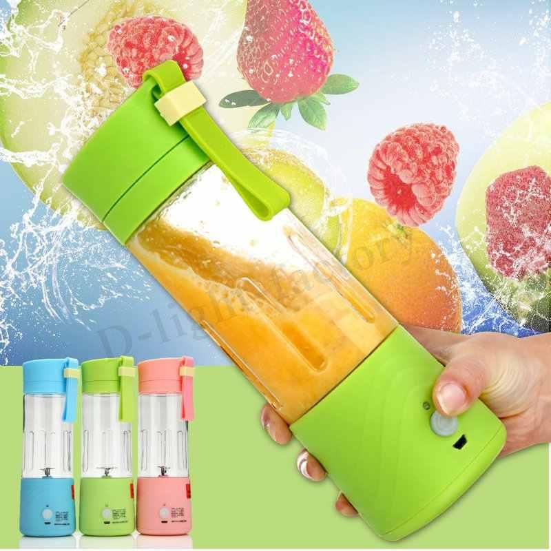 Liquidificador o suco de Fruta Máquina de Mistura Misturador USB Cabo do Carregador Portátil Portátil Pessoal Recarregável Tamanho Espremedor de Suco Original