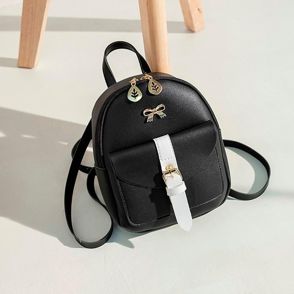 HTB1JPOXNmzqK1RjSZFLq6An2XXaG Convenient fashion Travel Fashion Lady Shoulders Small Backpack Letter Purse Mobile Phone mochilas Canta