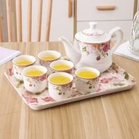 Bone China European Tea Set Set Household Ceramic Coffee Cup Set English afternoon black tea cup teapot tea lw4221107