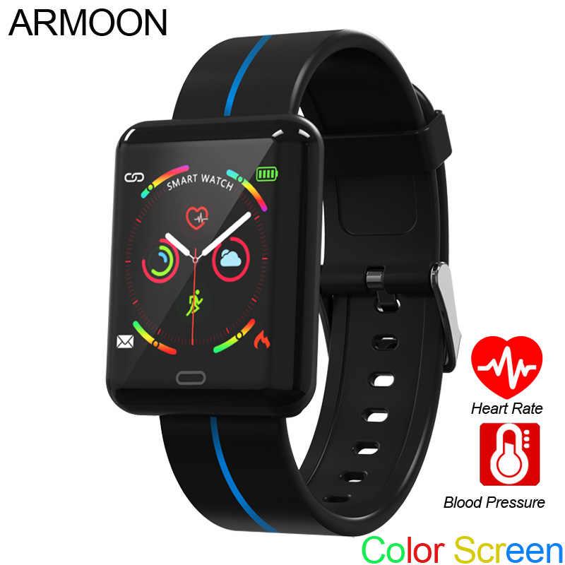 ساعة ذكية F5 شاشة ملونة معدل ضربات القلب الذكية سوار النوم مراقب اللياقة البدنية المقتفي أندرويد IOS متوافق مع شريط رياضي مقاوم للماء