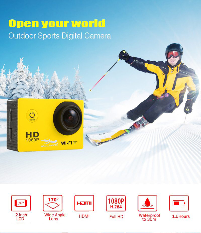 Action Camera WiFi Camcorder HD