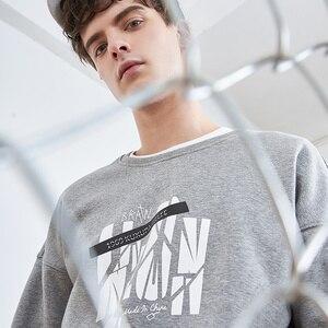 Image 2 - Pioneer camp nowa zimowa bluza polarowa bluzy męskie marki odzież casual bluza z nadrukiem jakości bawełny dres AWY806084