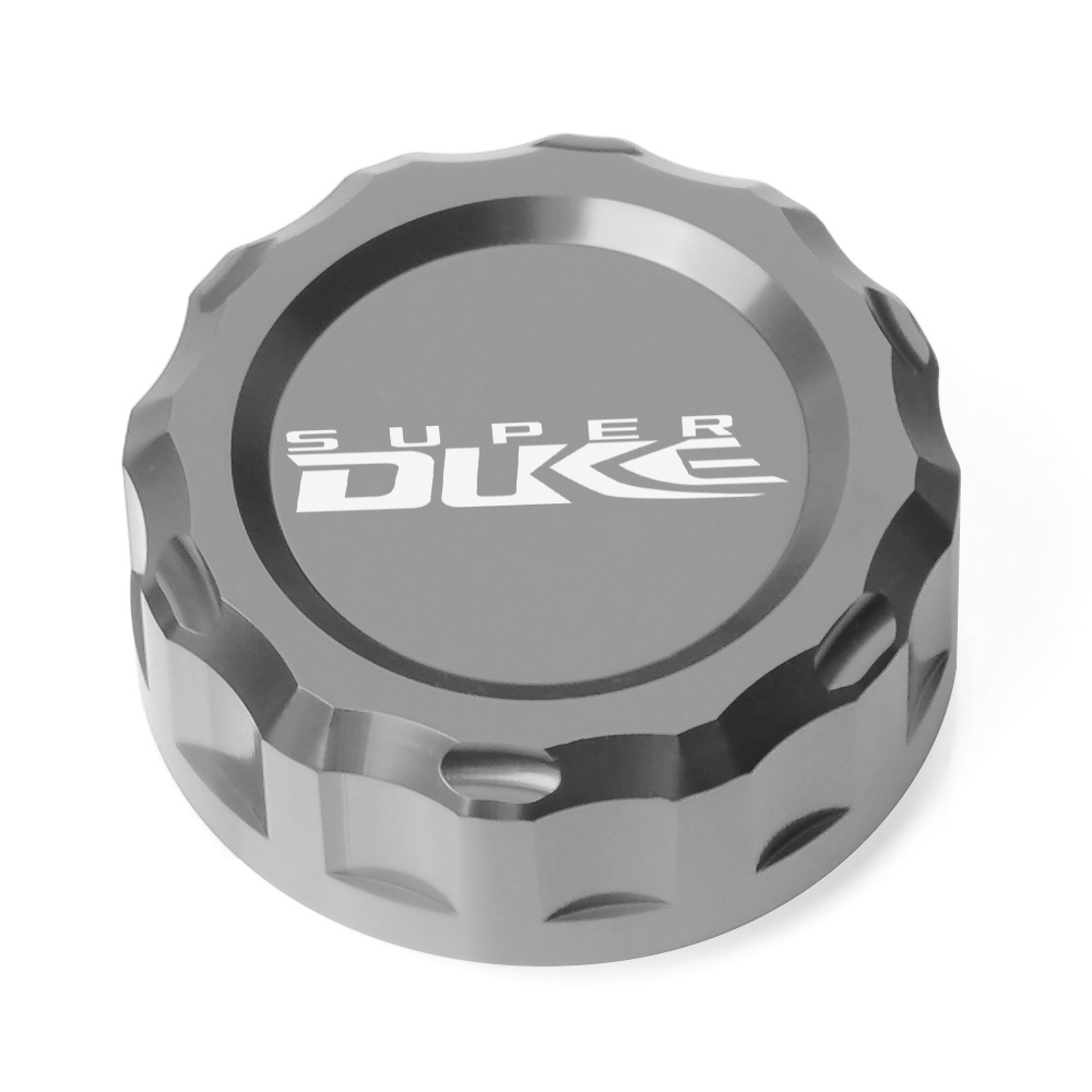 Motorcycle Cylinder Reservoir Cover Rear Fluid Accessories For KTM 990 Superduke R 2005 2012 2006 2007 2008 2009 2010 2011 in Covers Ornamental Mouldings from Automobiles Motorcycles