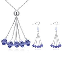 Popular Swarovski Crystals Jewelry Set-Buy Cheap Swarovski ...