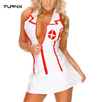 2017 Sexy Lingerie Roleplay Fancy Hot Bedroom Nurse Costume Nurse Outfit Dress Hat Sexy Costumes Fashion