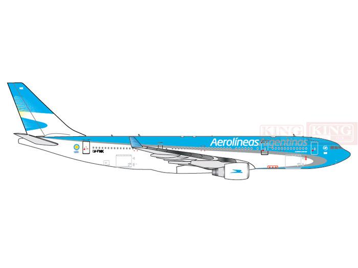 GJARG1323 GeminiJets Argentina Airlines LV-FNK 1:400 A330-200 commercial jetliners plane model hobby xx2858 jc hongkong b747 200f wings vr hvy 1 200 commercial jetliners plane model hobby