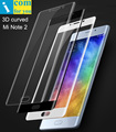 3D curved Tempered Glass Protective For Xiaomi Mi Note 2 Note2 5.7 inch 2.5D edge Oleophobic Coating icomforyou Brand