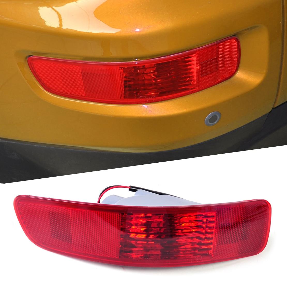 DWCX SL693-LH SL693 Rear Fog Lamp Light Left Side for Mitsubishi Outlander 2007 2008 2009 2010 2011 2012 2013 car rear trunk security shield shade cargo cover for nissan qashqai 2008 2009 2010 2011 2012 2013 black beige